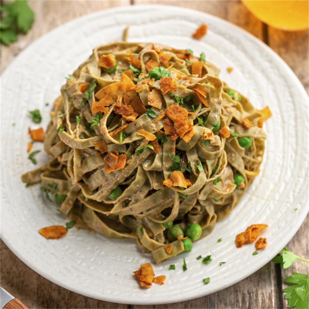 The Ultimate Vegan Starter Kit and Pasta Carbonara Recipe