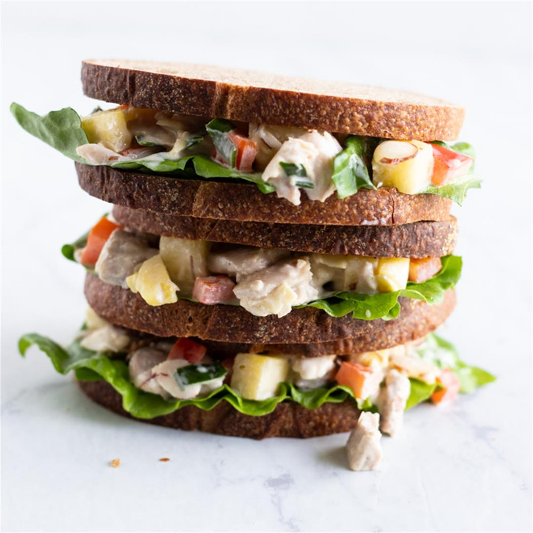 Low FODMAP Hawaiian Chicken Salad