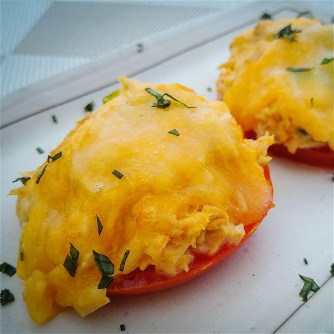 Tomato and Basil Tuna Melt