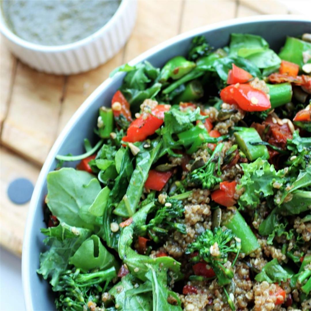 Zesty Veggie Quinoa Salad Recipe