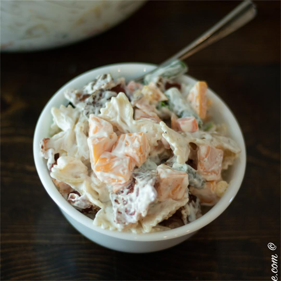 Bacon Ranch Pasta — The Buttered Home