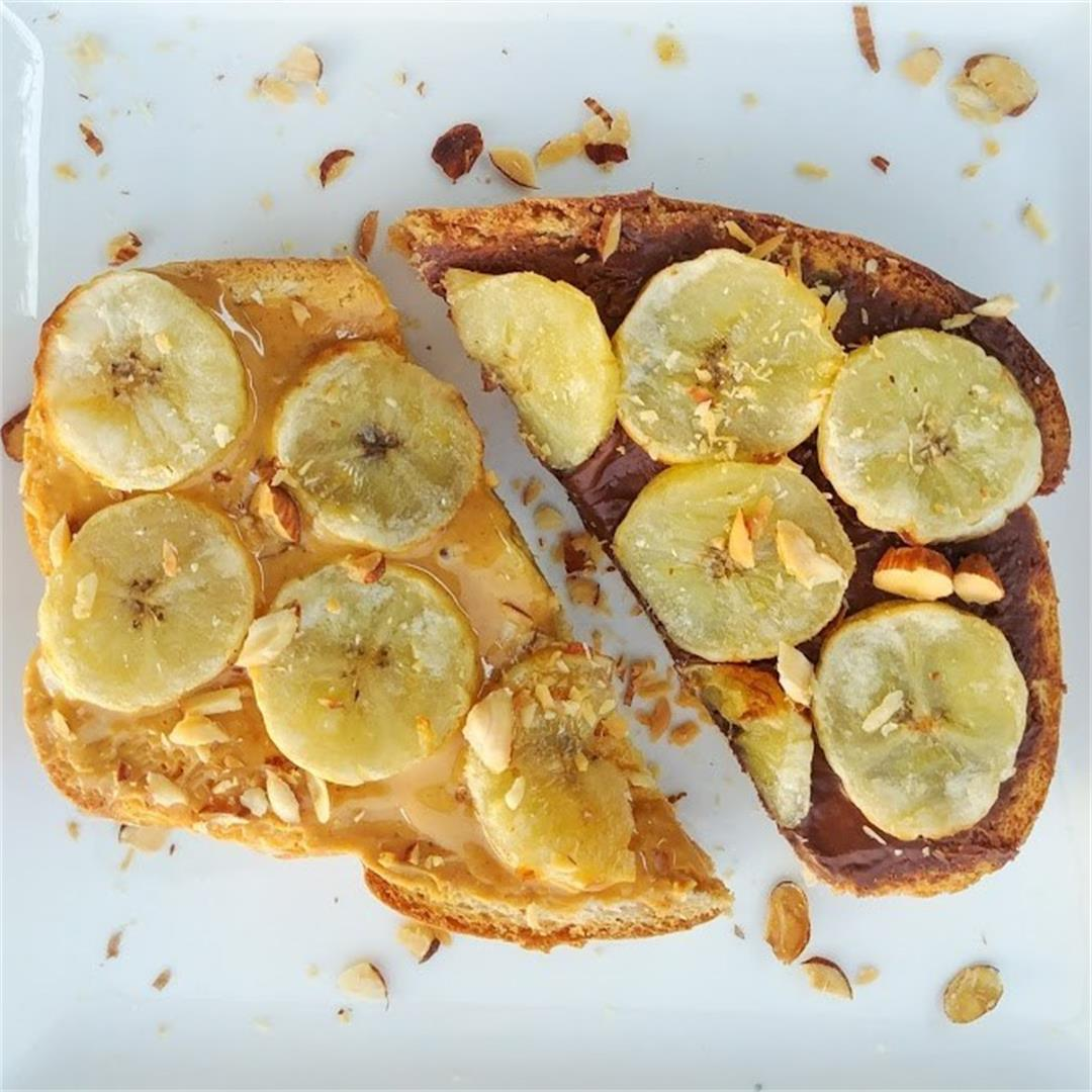 Banana Toasts ~ Two Flavors