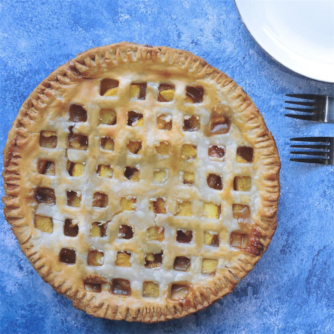 Southern Fresh Peach Pie Recipe