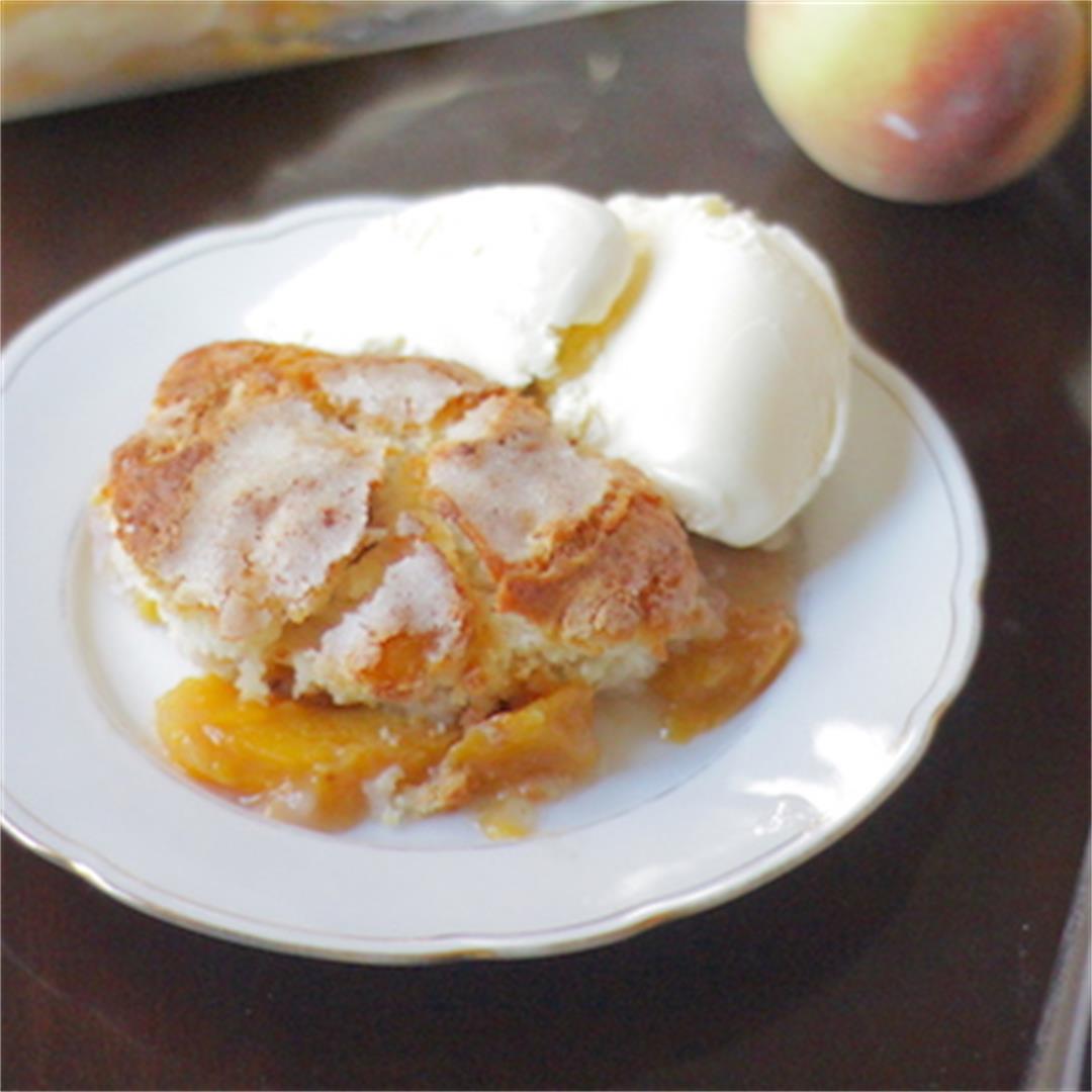 Fresh Peach Cobbler — Jenny