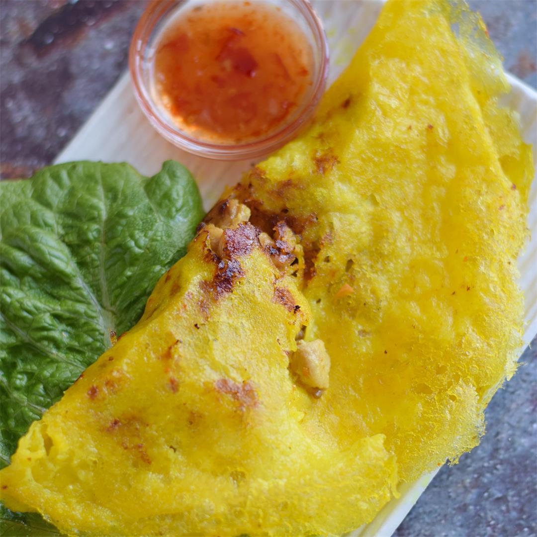 Vietnamese Crepe Recipe (Banh Xeo)