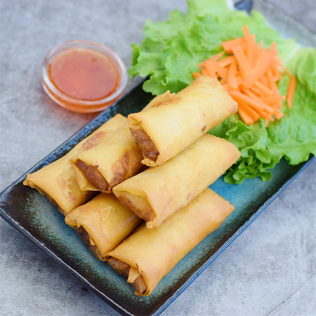 Poh Pia Tod Recipe (Pork Egg Roll)