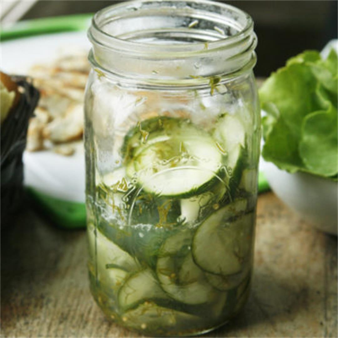 How to Make Easy Dill Quick Pickles