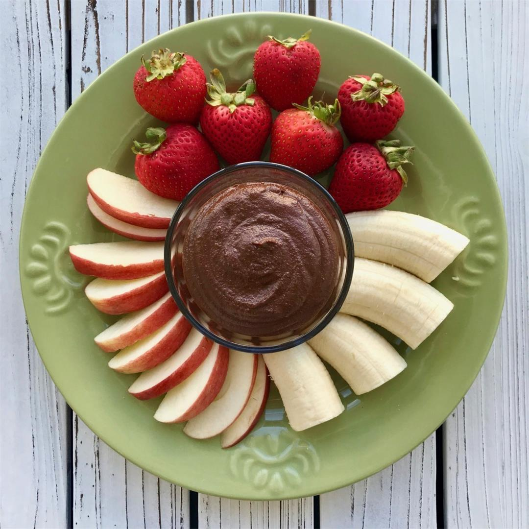Healthy Chocolate Fruit Dip