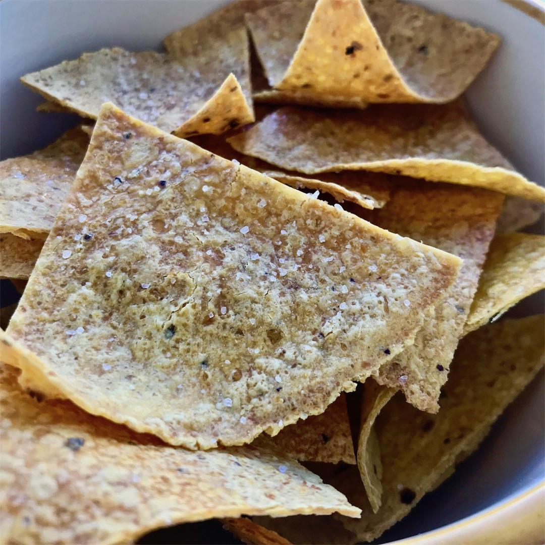 Baked Corn Tortilla Chips Recipe
