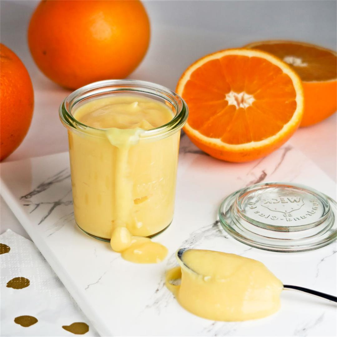 Looking for a no-fail orange curd recipe? You found it!