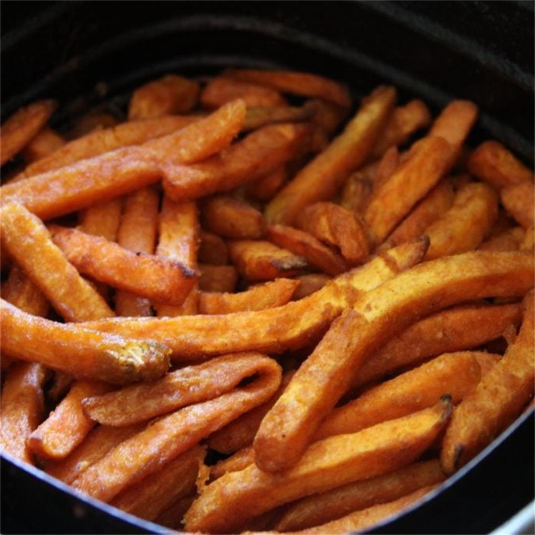 Air Fryer Frozen Sweet Potato Fries