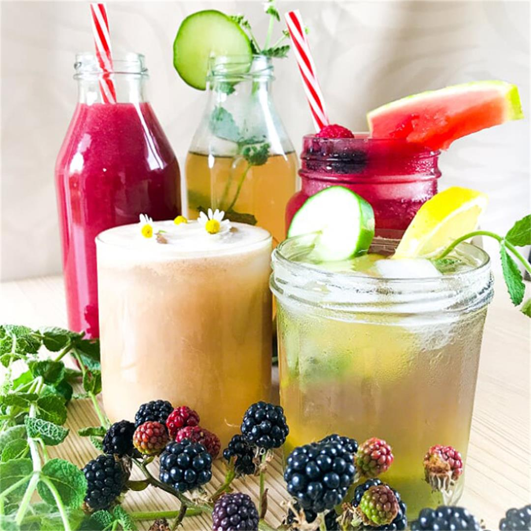 3 Summery (non-alcoholic) Drinks to Beat the Heat — The Tiny Ve