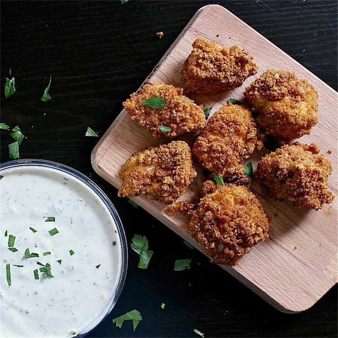 Crispy Low Carb Chicken Nuggets