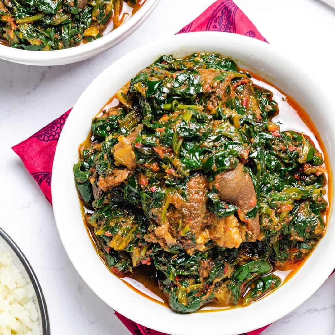 African Spinach Stew