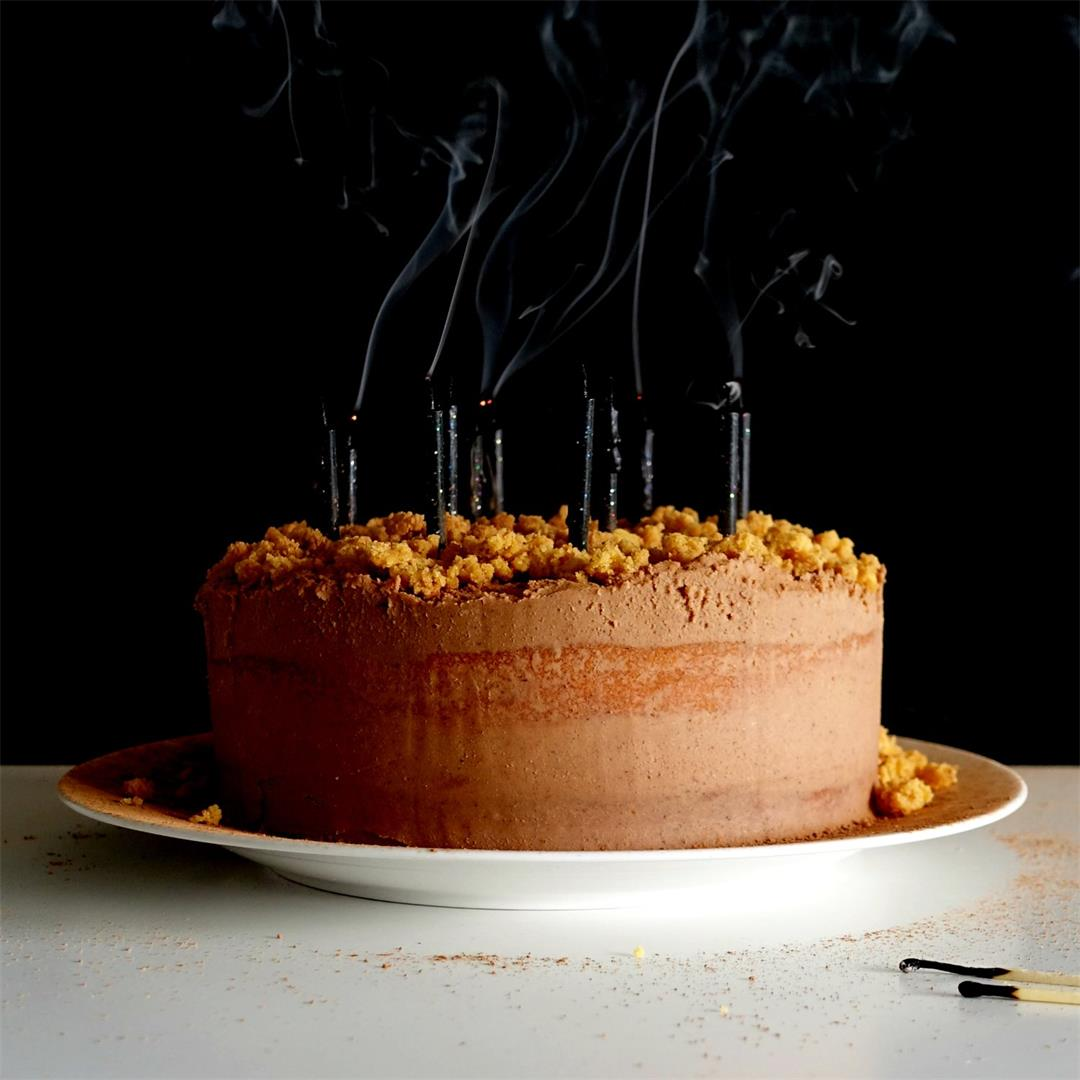 Chilli Chocolate Grapefruit Cake — Hoskins Hens
