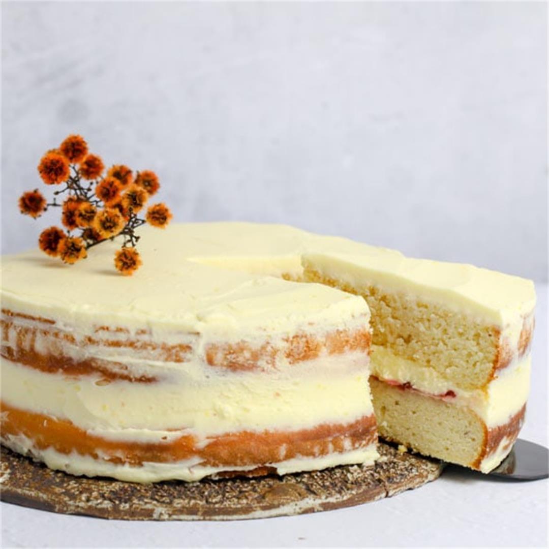 Keto Vanilla Cake