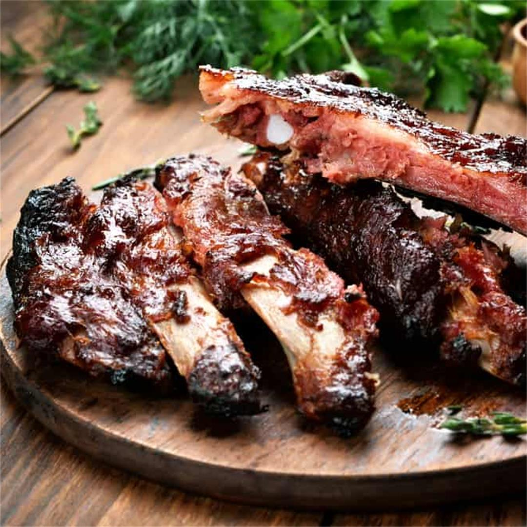 How to grill ribs fast