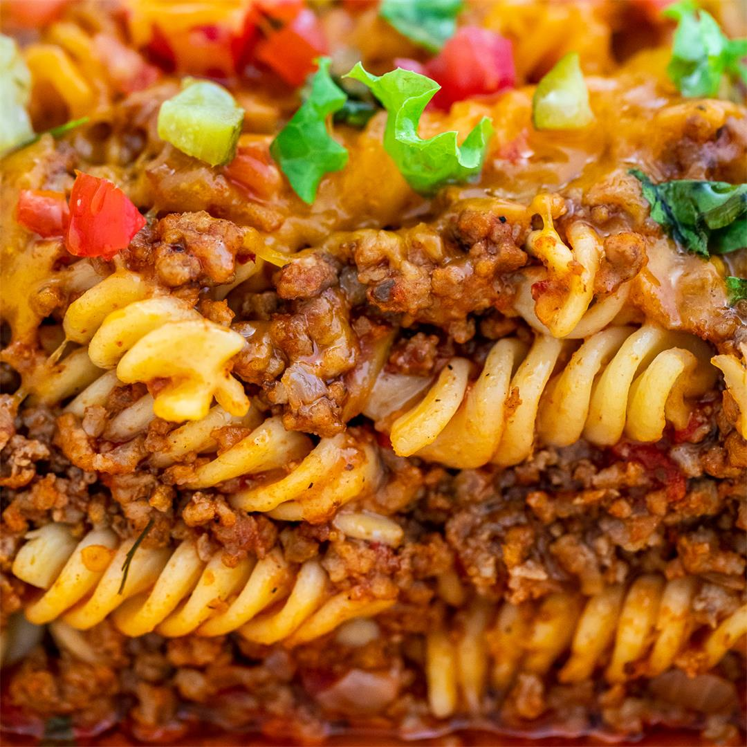 Loaded Cheeseburger Casserole [video]