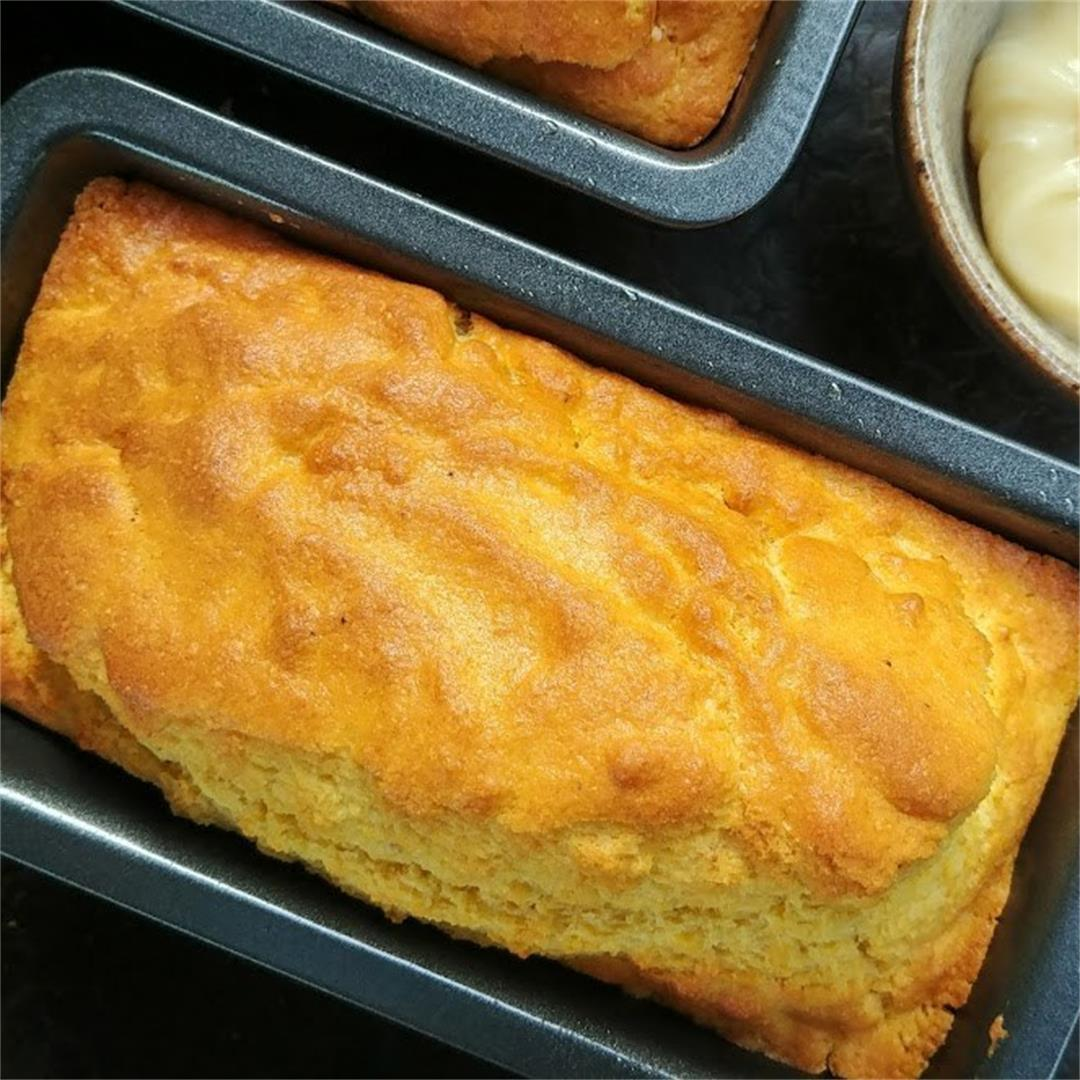 Corn Bread with Honey Whipped Butter