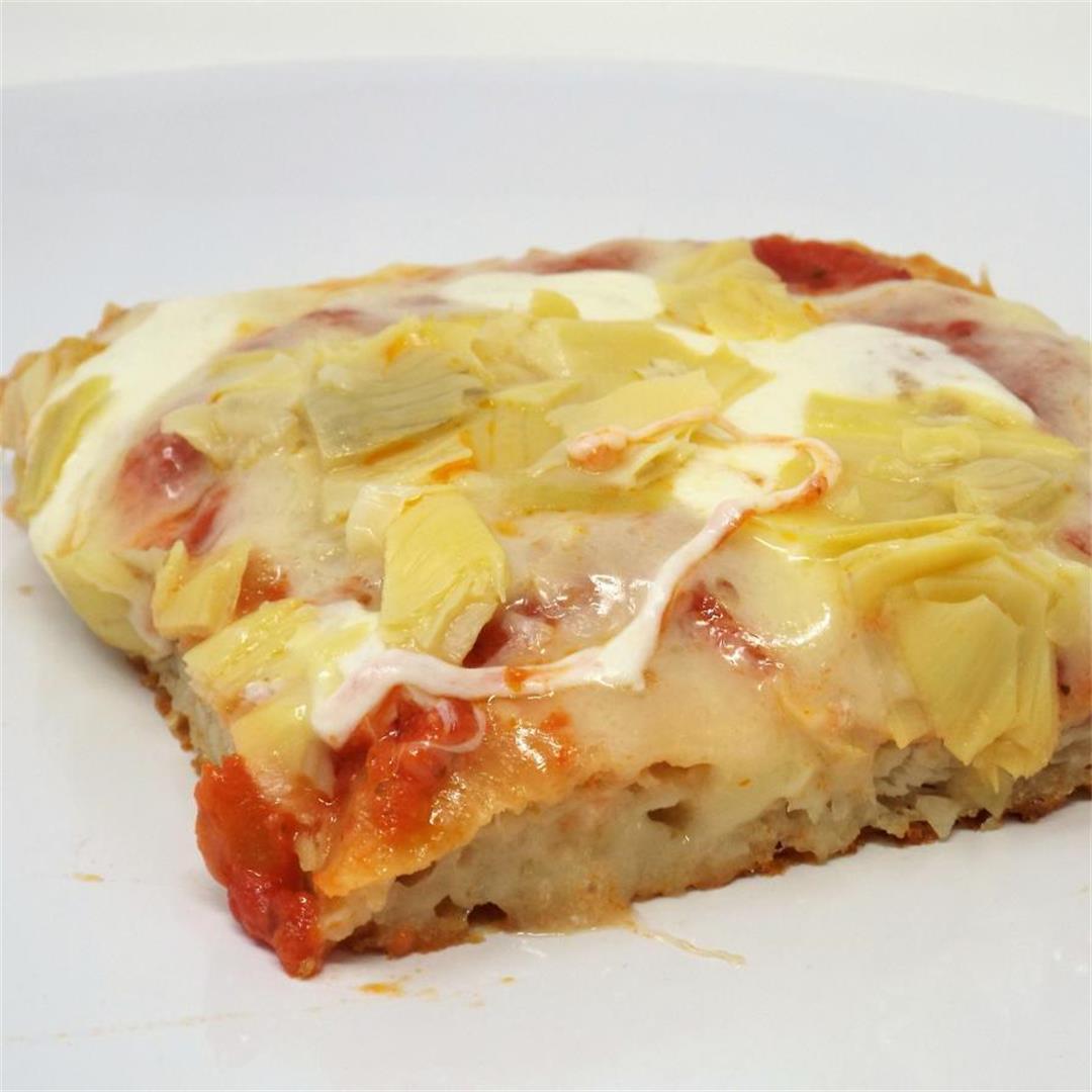 Pizza al Taglio with Artichokes