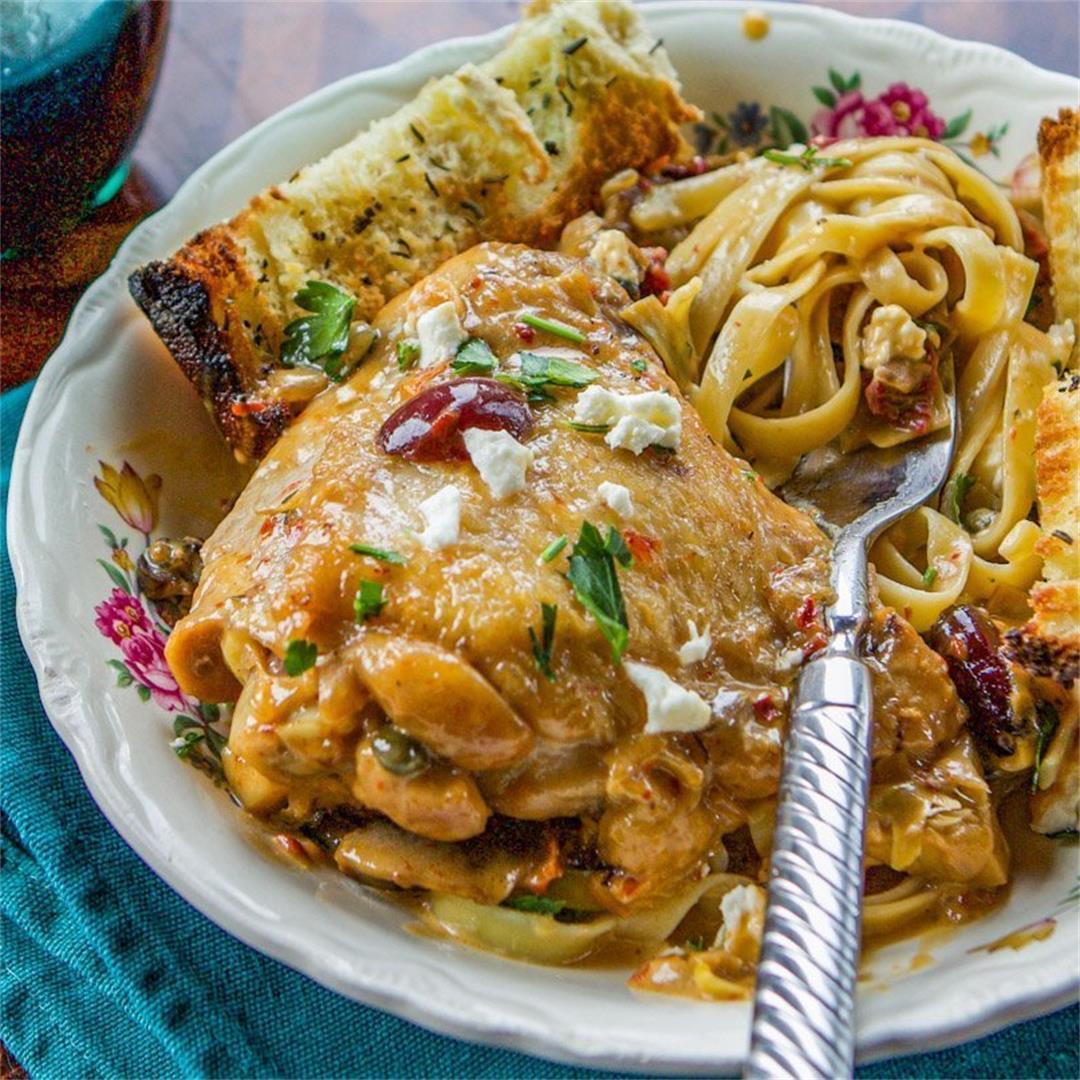 Easy Marry Me Chicken Recipe (over pasta)