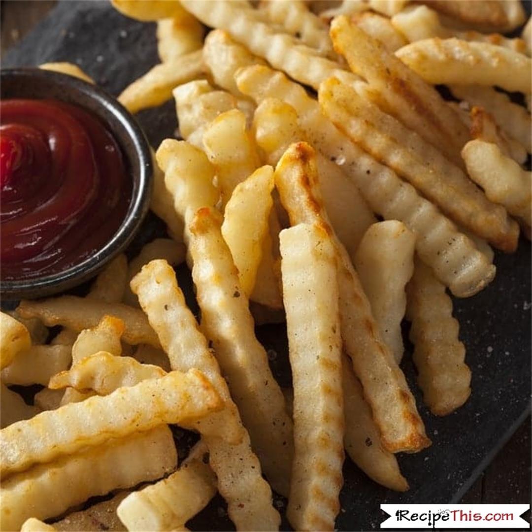 Air Fryer Frozen Crinkle Cut Fries
