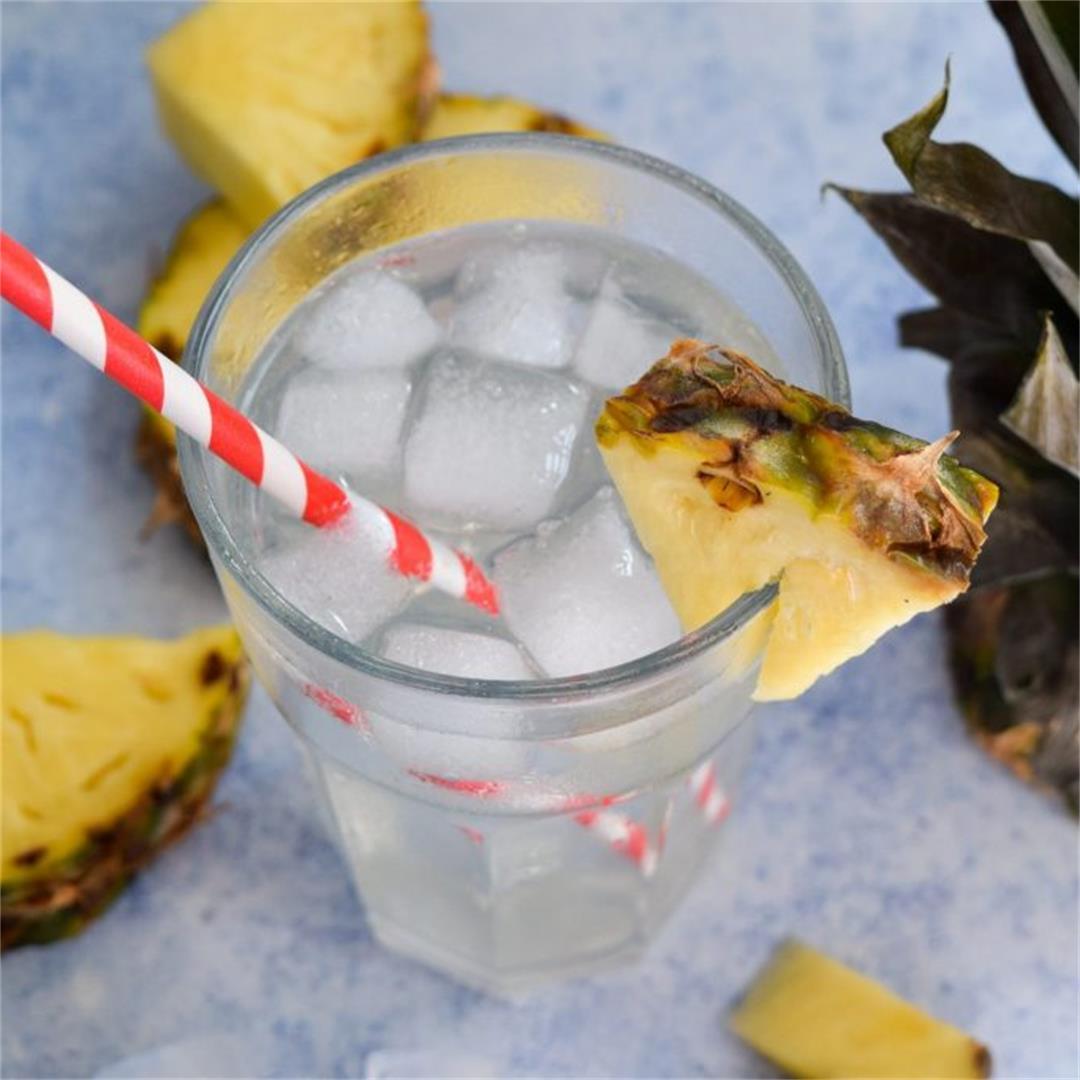 How To Make A Pineapple Shrub