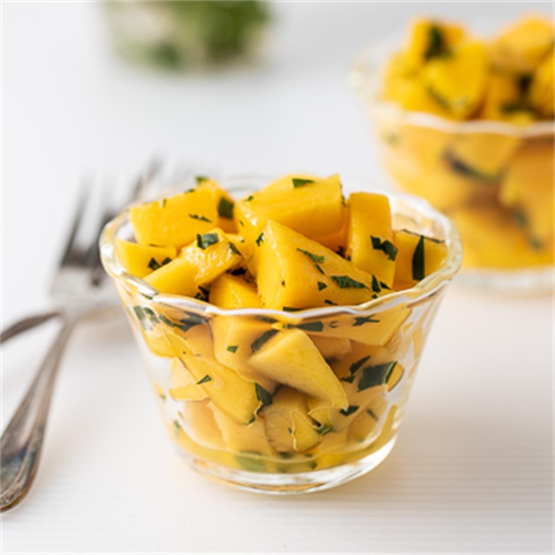 Mango Salad with Mint