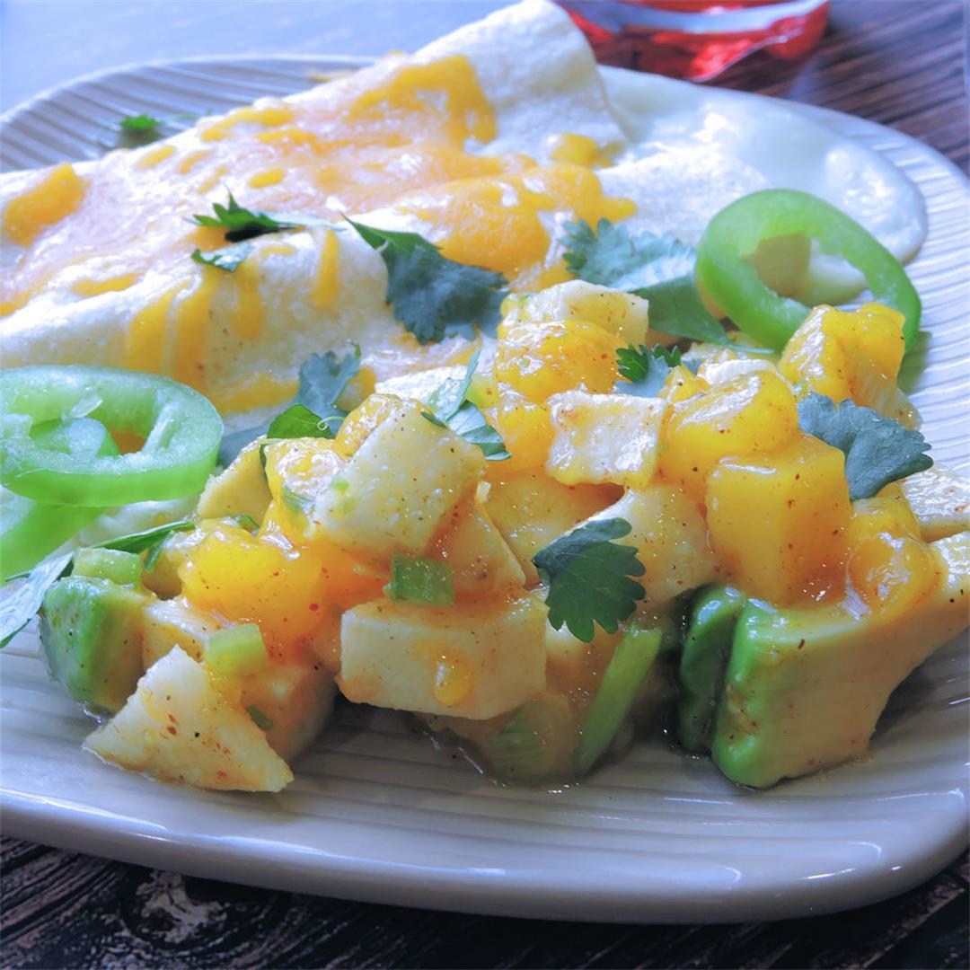 Mango Avocado Jicama Salad Recipe