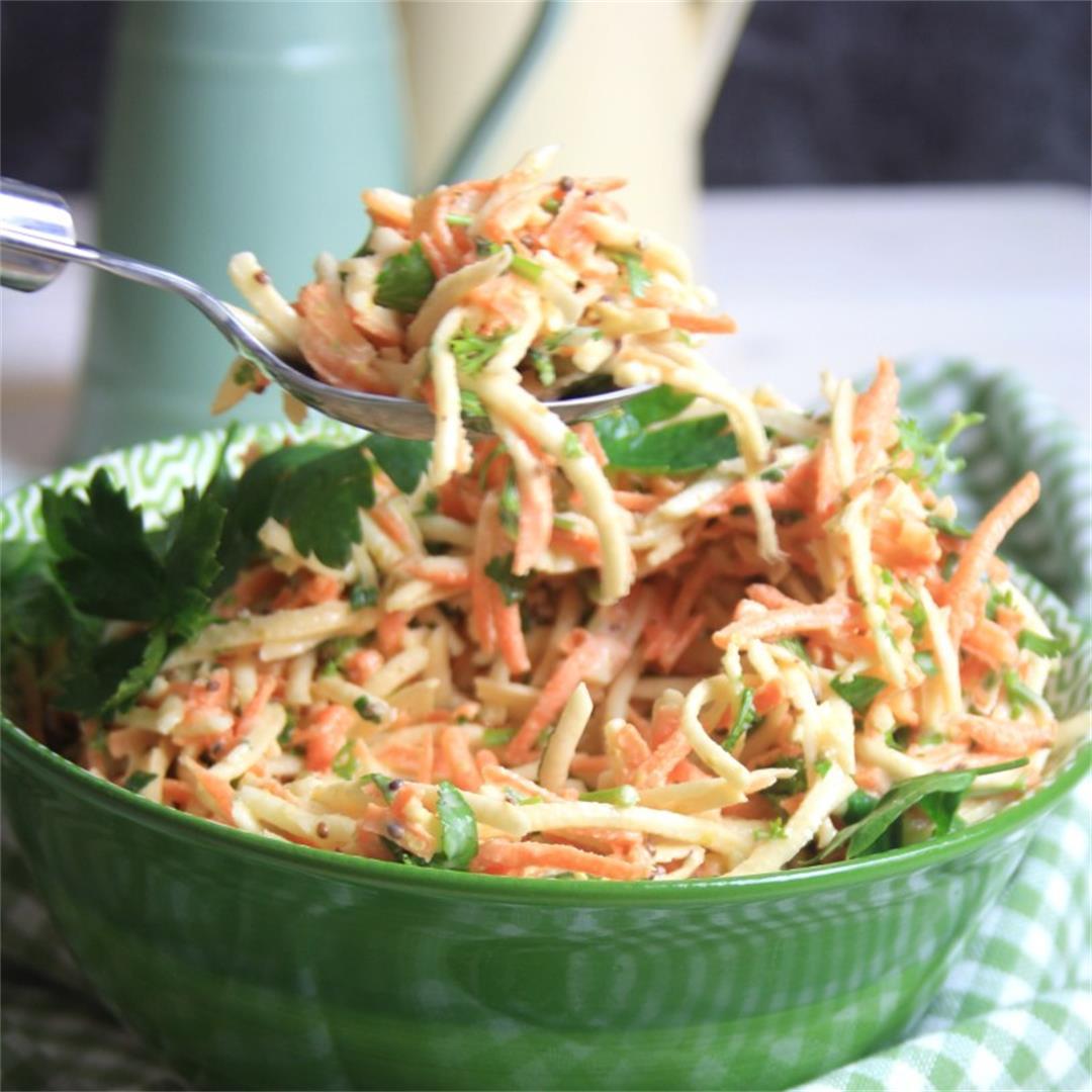 Carrot and Celeriac Remoulade
