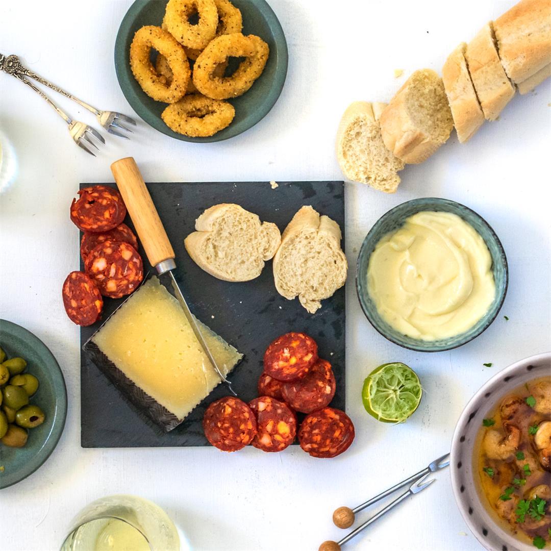 Spanish Tapas Platter Recipe