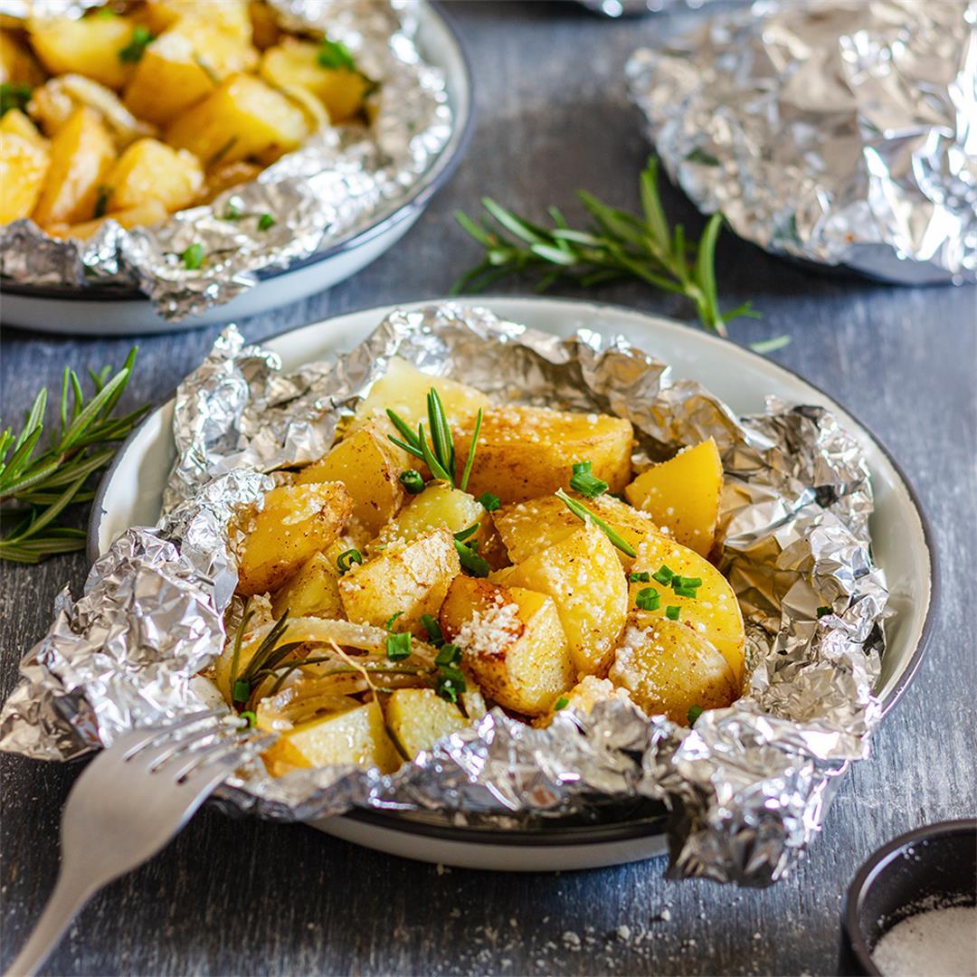 Easy Campfire Potatoes