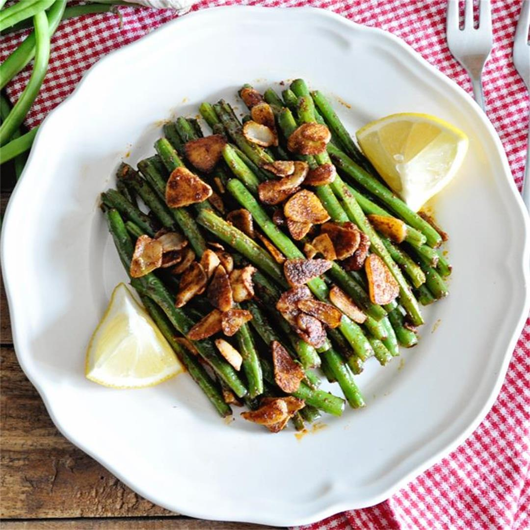Spanish Green Beans with Garlic and Paprika Recipe