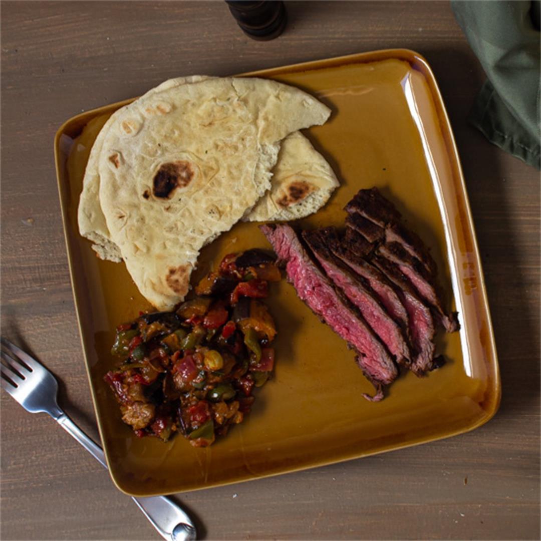 Mediterranean Marinated Flank Steak