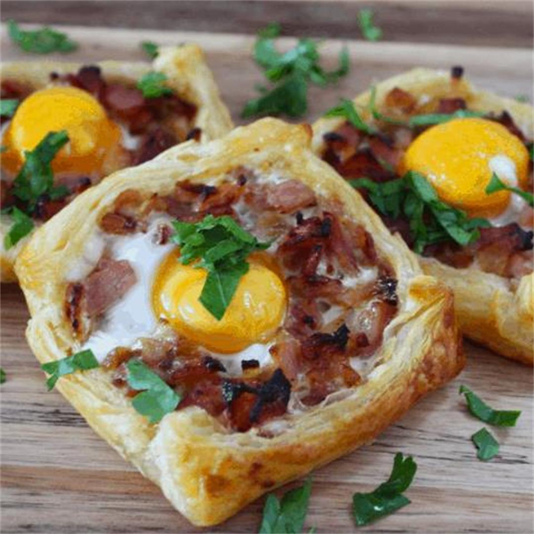 Bacon and Egg Galettes - It's Not Complicated Recipes