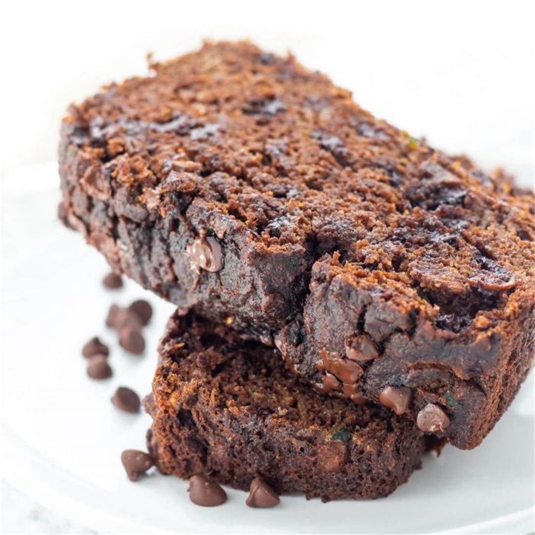 Paleo Chocolate Zucchini Bread