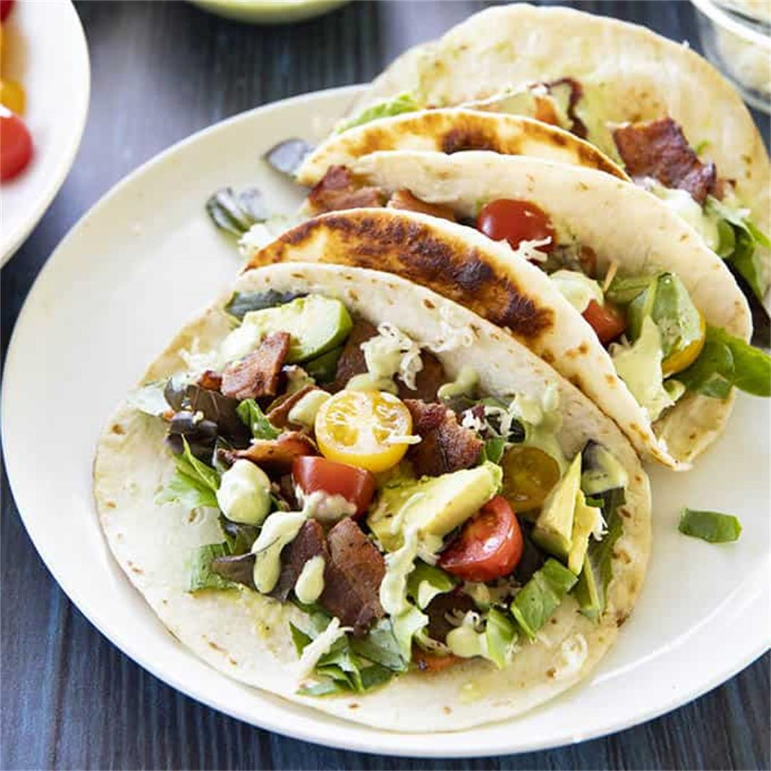 Amazing BLT Tacos