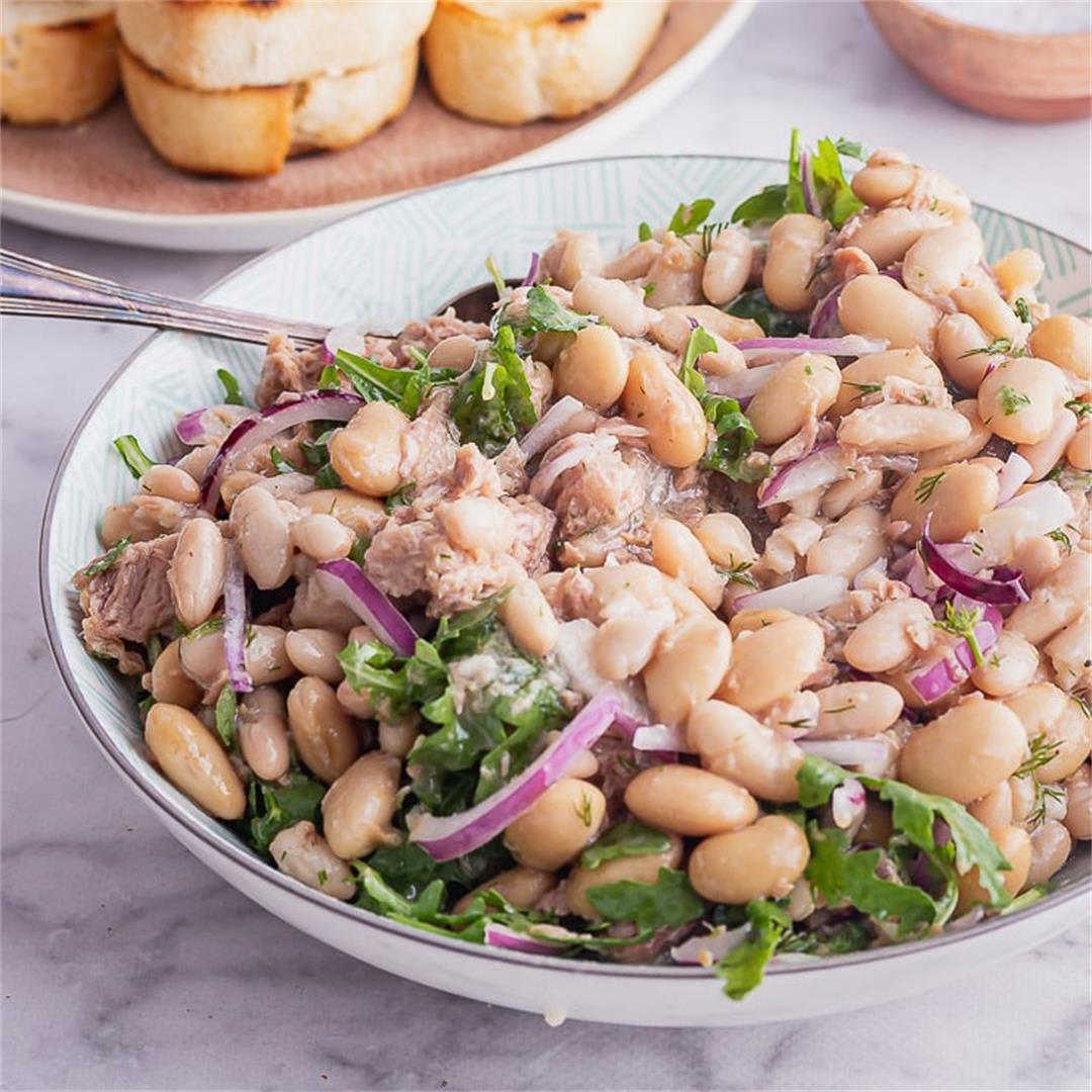 Tuna Salad with Garlic Toasts • The Cook Report