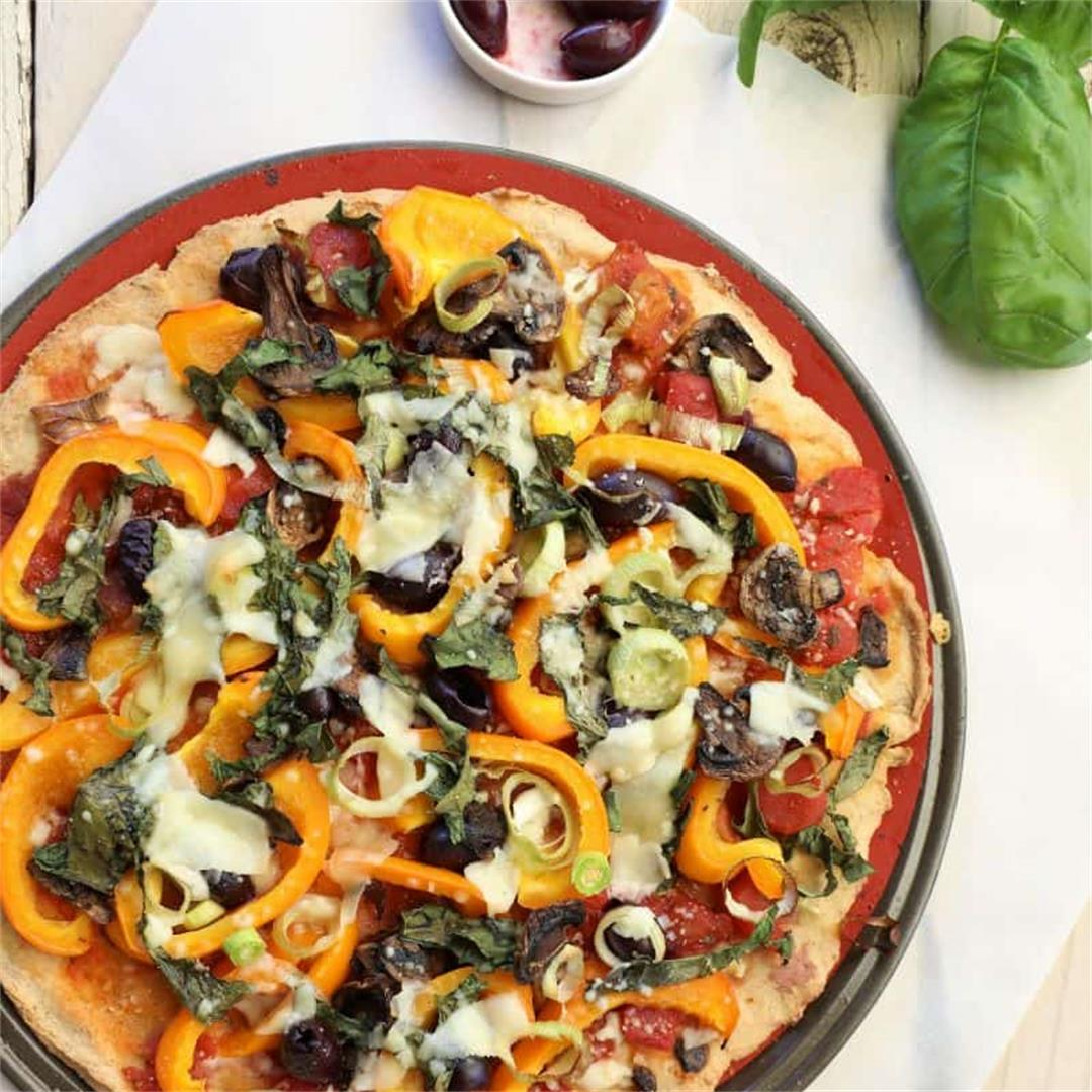 Cauliflower Quinoa Pizza