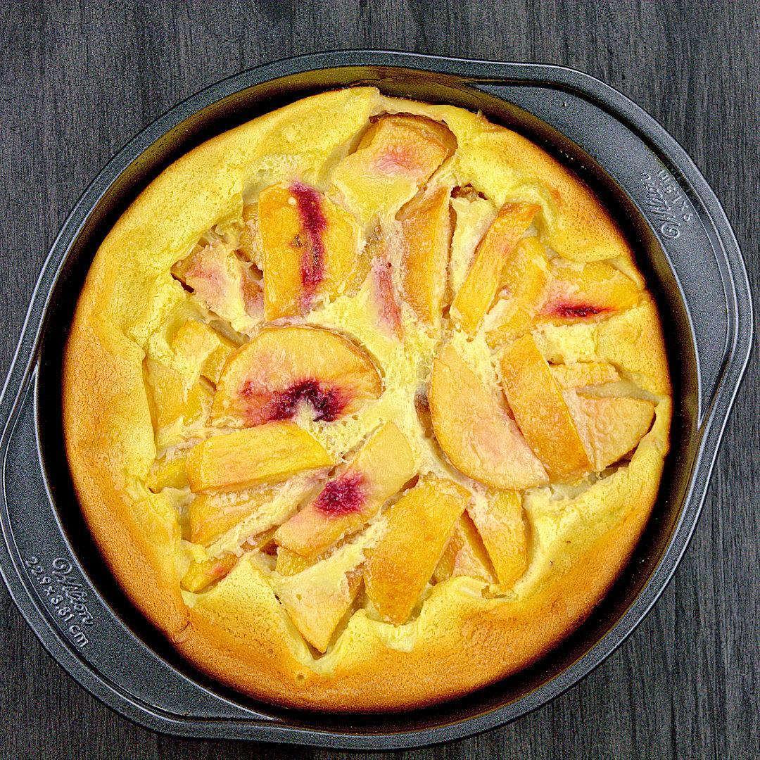Peaches n Cream Clafouti – A Gourmet Food Blog