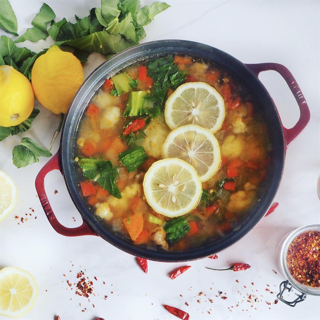 Nutritious Vegetable Soup