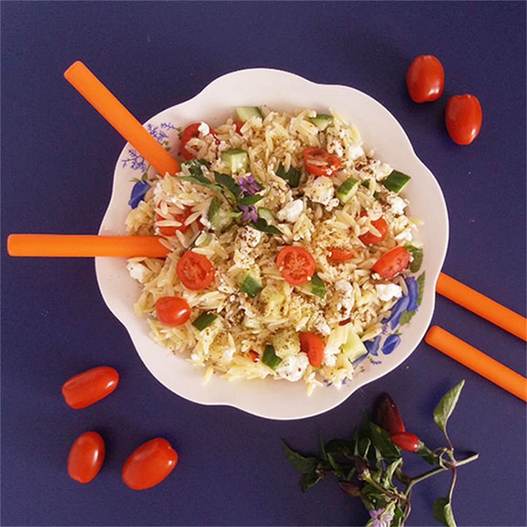 Za'atar Pasta Salad