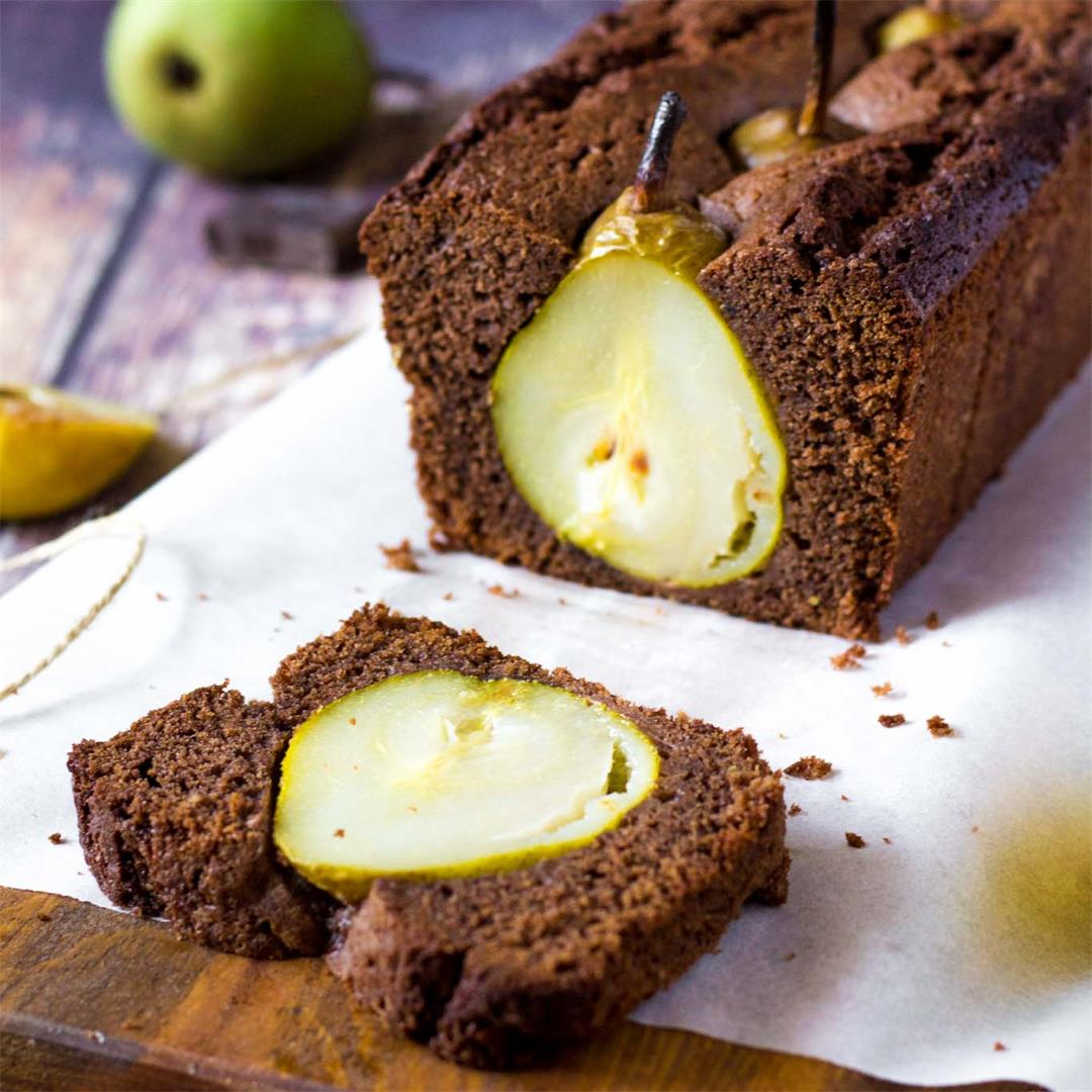 Chocolate Pear Bread