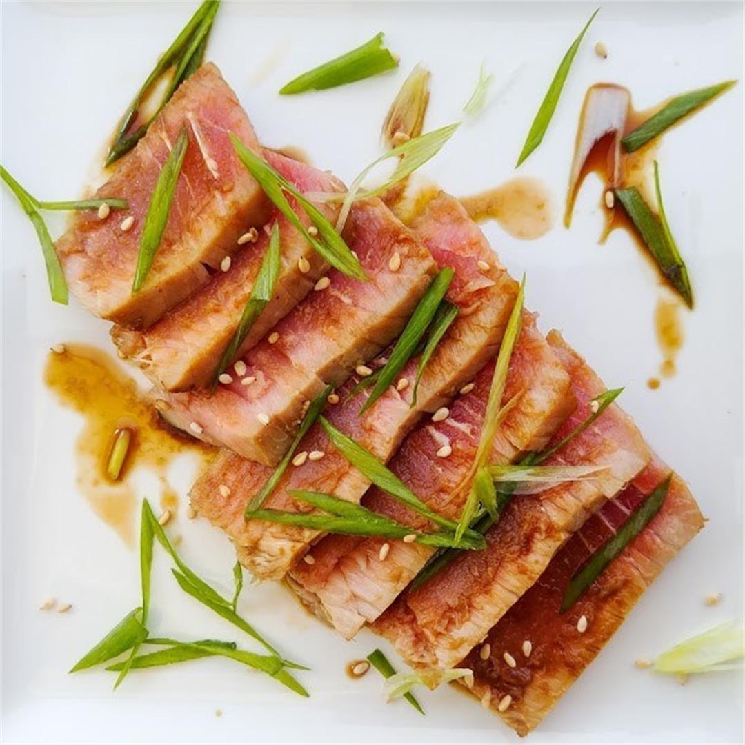 Tuna with Ponzu Sauce