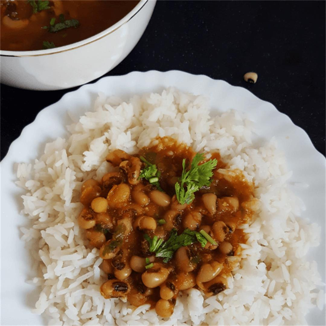 Lobia - Vegan black eyed bean curry