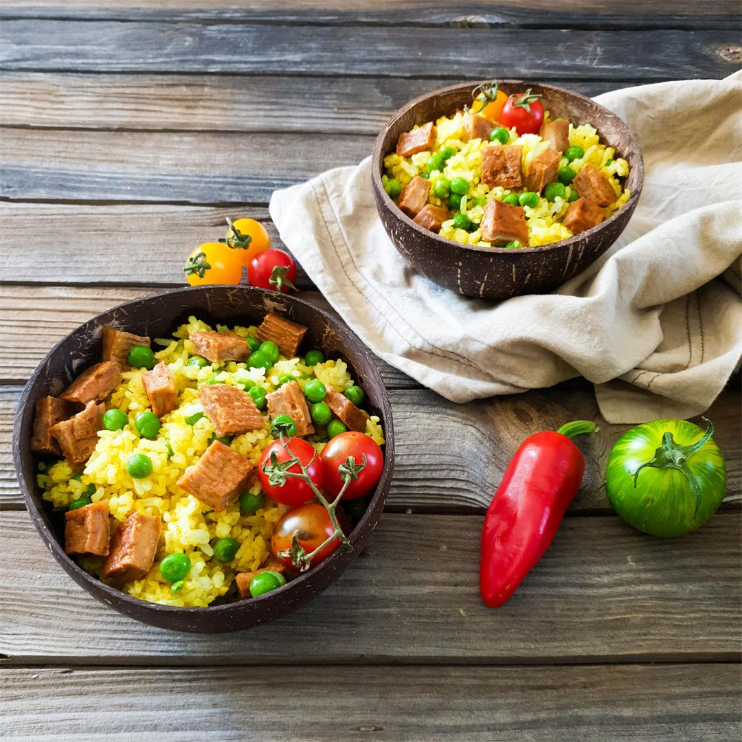 Easy Vegan Fried Rice — The Tiny Vegan Life