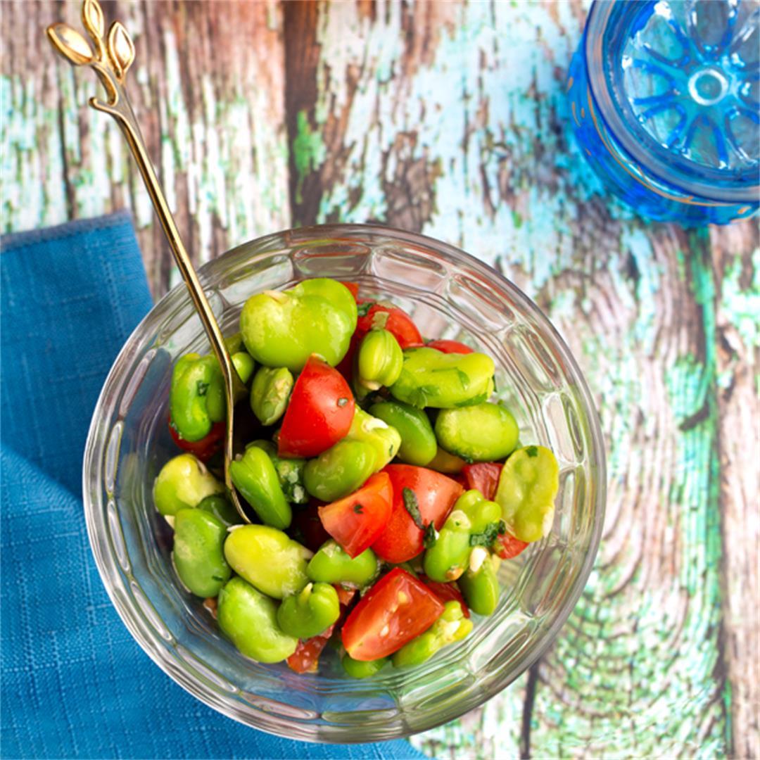 Fresh Fava Bean Ful Medames