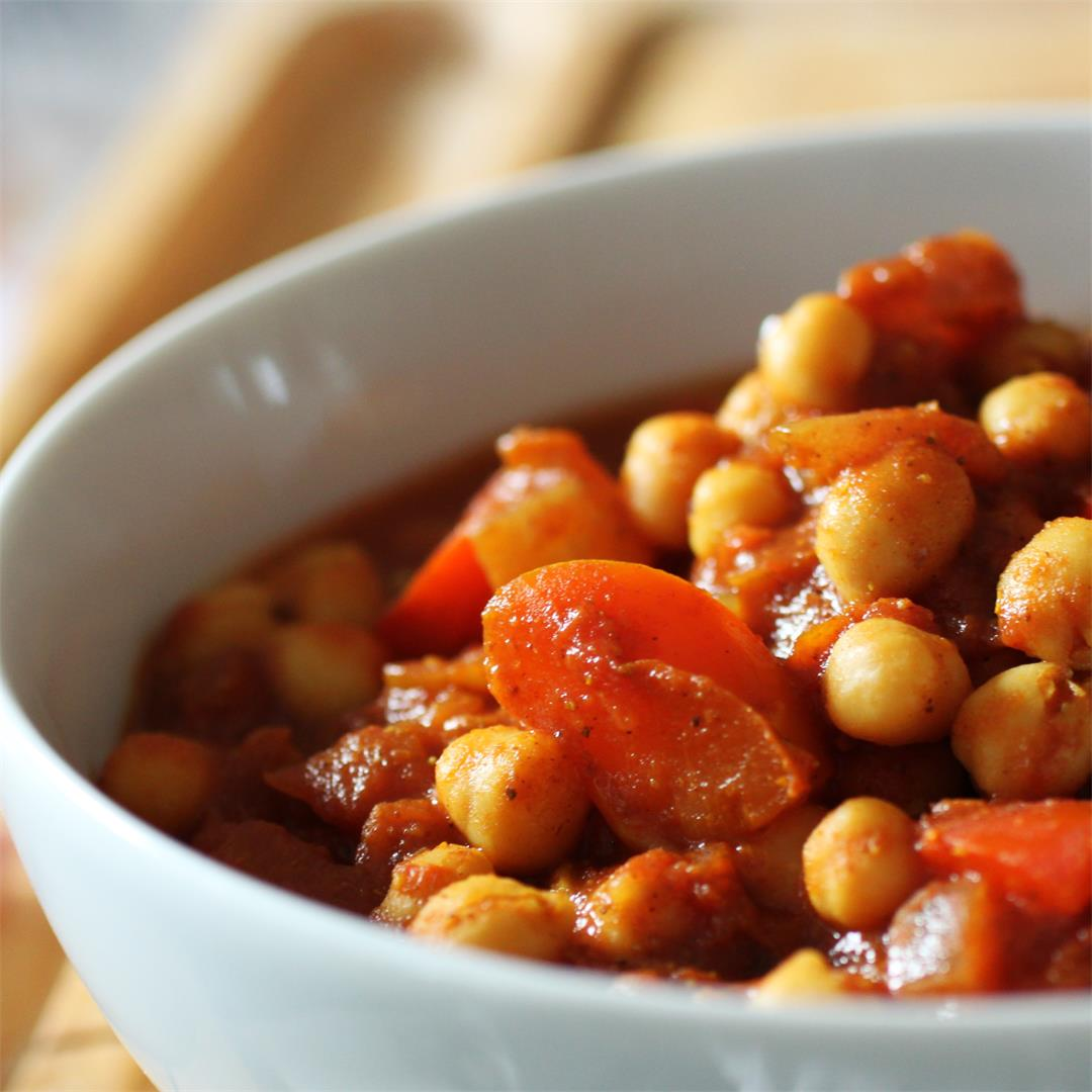 Basic Chickpea Curry Recipe