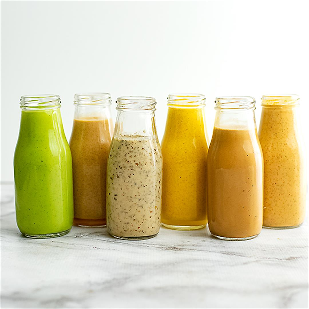 6 Healthy Salad Dressing Recipes To Make at Home