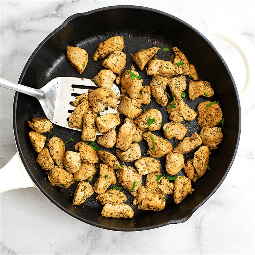 10 Minute Skillet Italian Chicken